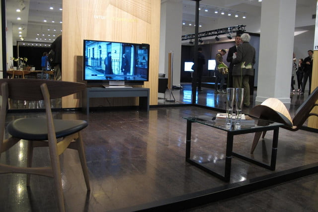 bang olufsens first 4k uhd tv knows right moves beovision avant 7