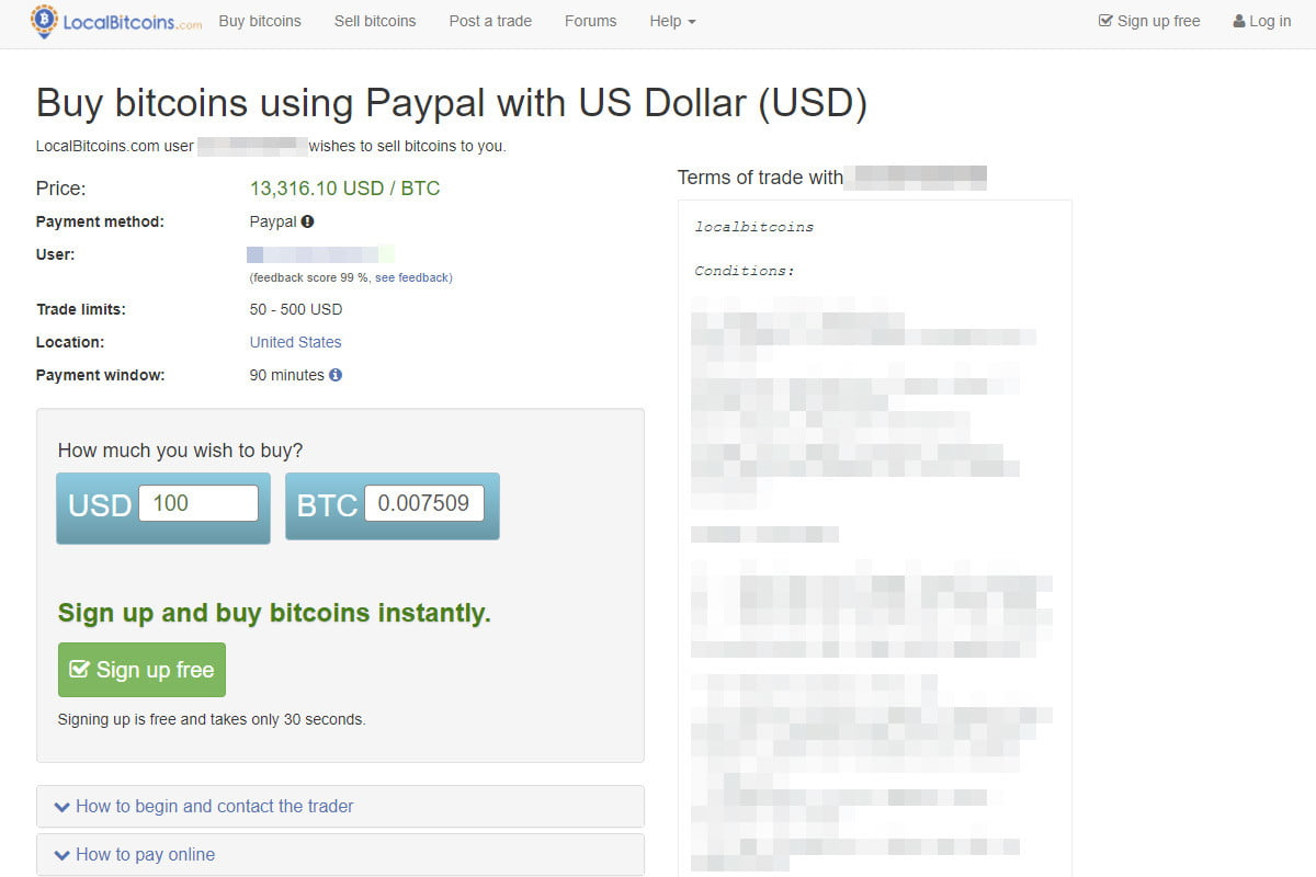 how to use paypal to buy bitcoin