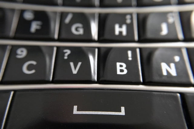 BlackBerry Classic keyboard