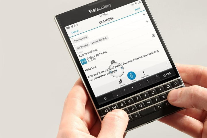 blackberry passport simple