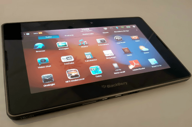BlackBerry Is Open To Making Another Tablet