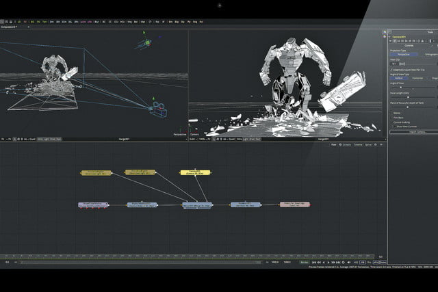 Blackmagic Design Fusion 9 screenshot