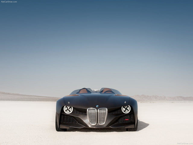 BMW 328 Hommage front