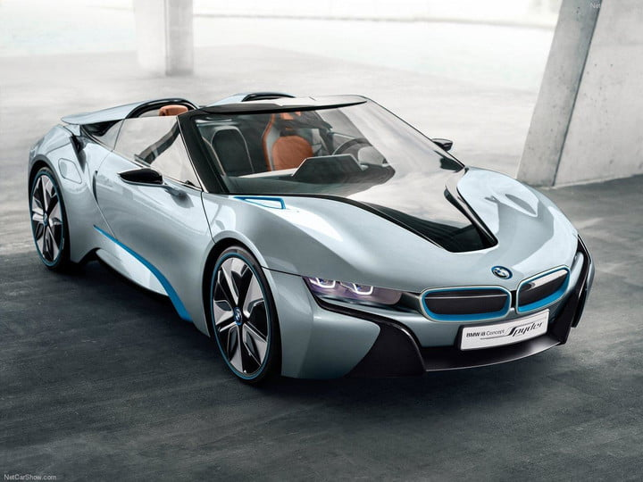 Bmw I8 Spyder Concept Front Angle