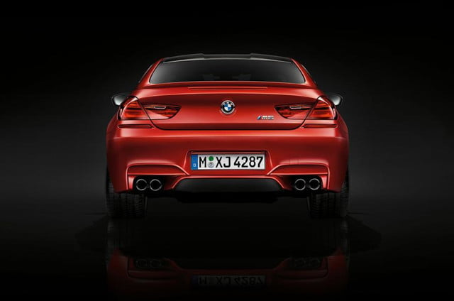 bmw m6 competition pack rear