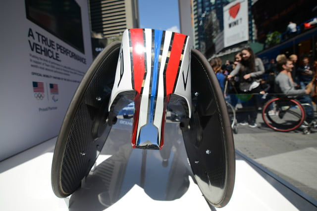 road to rio new york city bmw racing wheelchair 1