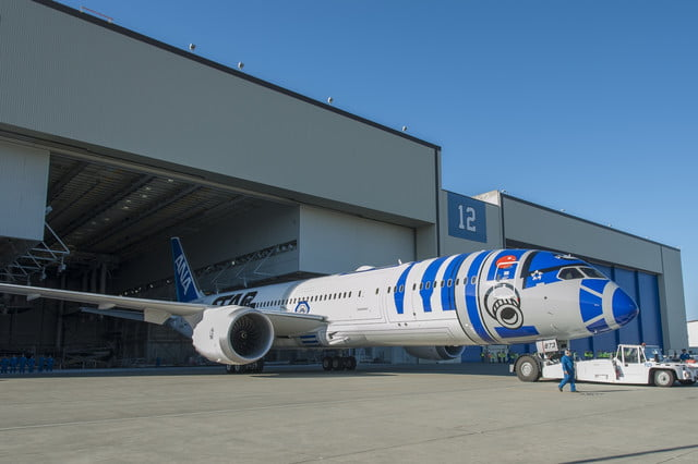 r2 d2 is still not the droid youre looking for but its plane youll want to fly on boeing ipb license external use ana star wa