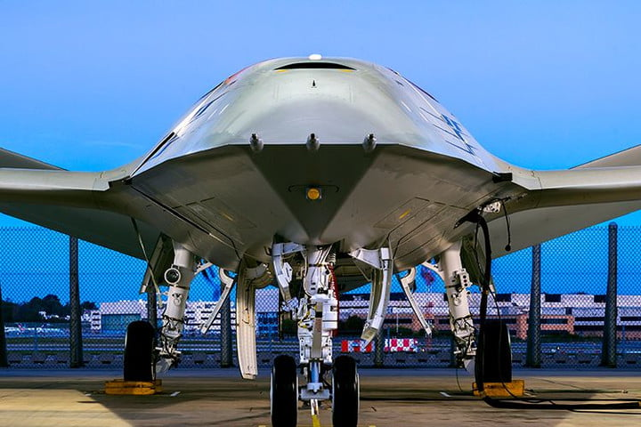 Boeing unveils prototype refueling tanker drone for aircraft carrier operations