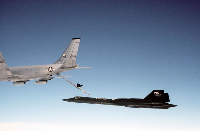the fastest jet in world boeing kc 135q refueling sr 71 jpeg