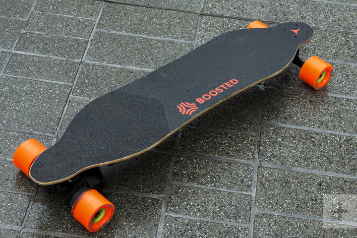 boosted 2 dual electric longboard review loaded skateboard fulltopview