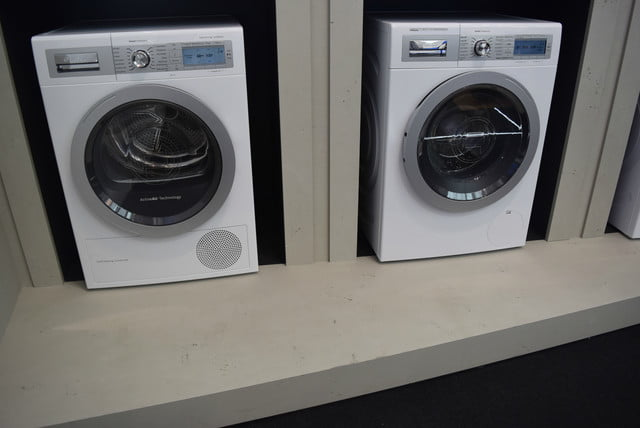 cool washers and dryers from ifa 2015 bosch home connect washer dryer