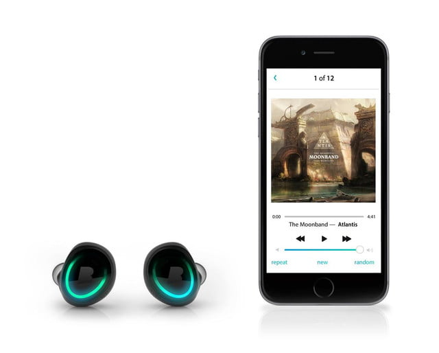 feature packed dash headphones surface at ces bragi smartphone