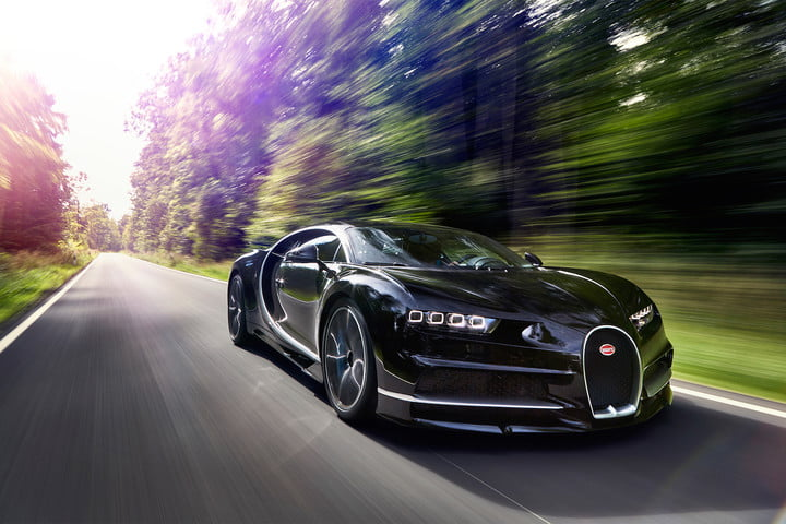 Bugatti Chiron Sets World Record 0 To 249 To 0 Mph Digital Trends