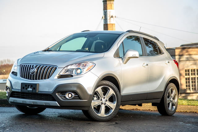 Buick Encore front right angle
