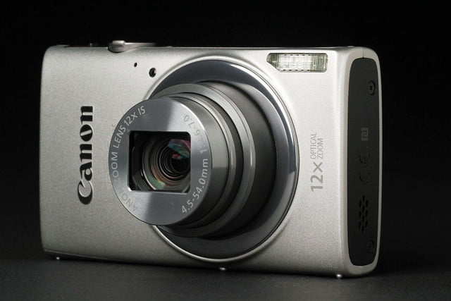 Canon ELPH 340HS front right angle