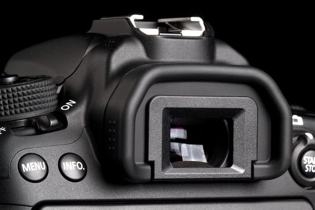 Canon EOS 70D viewfinder