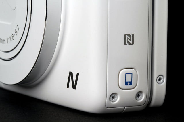 Canon N100 front corner