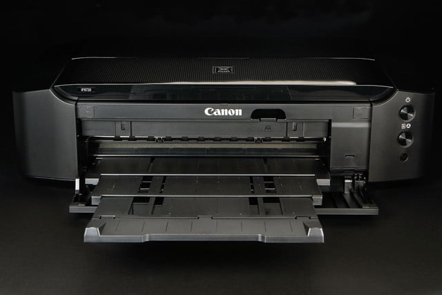 Canon Pixma P8720 front tray open
