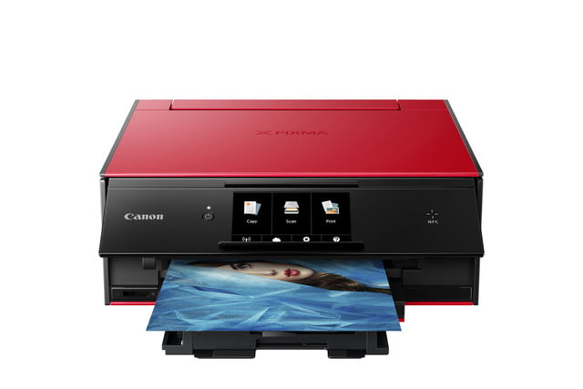 canon pixma ts all in ones ts9020 red cutout
