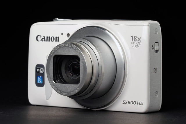 Canon SX600 front angle open
