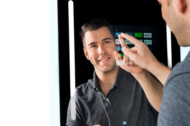 capston google enabled smart mirror changes how you get ready capstone 1
