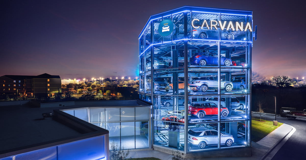 Carvana Launches Automated Car Vending Machine In Texas