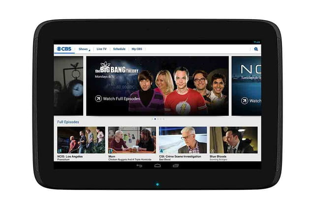 cbs jumps internet bandwagon new stand alone service access all tablet