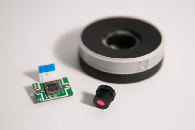 centr camera puts 360 degree panoramic perspective in a small package lense and chip