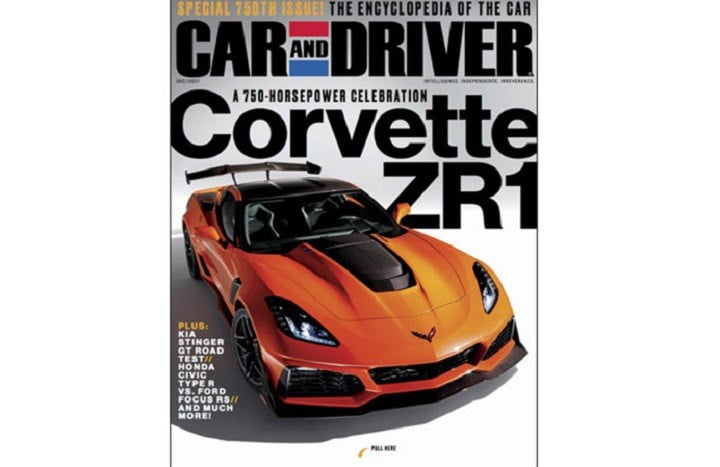 Buff book leak gives us an early look at the baddest Chevrolet Corvette yet