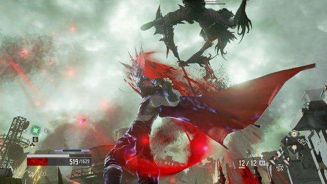 Code Vein review blood