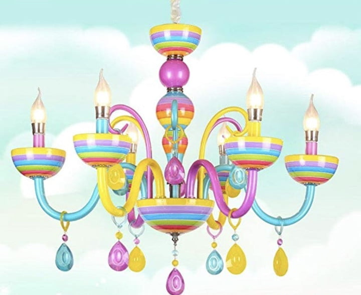 weird chandeliers you can buy on amazon colorful chandelier