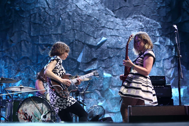 Corin Tucker and Carrie Brownstein