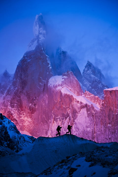 to get perfect mountain shot corey rich climbs mountains cory interview sample photos 14760