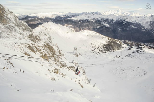 airbnbs new a night at contest is for cable car in the french alps courchevel airbnb 90985f07