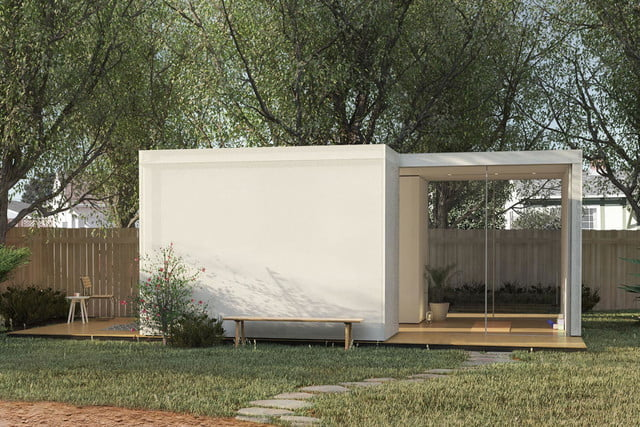 cover prefab homes snap together 10b