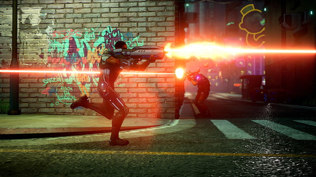 crackdown 3 review screenshot alley fight