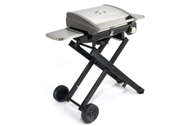 amazon drops prices for cuisinart grills smokers and bbq accessories cgg 240 all foods roll away gas grill 1