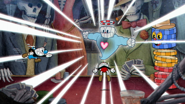 Cuphead review Heart Man