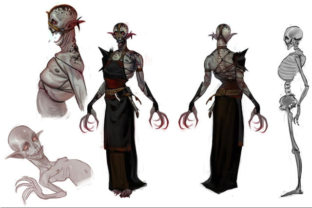 heres everything need know story leading dragon age inquisition daii concept art 13