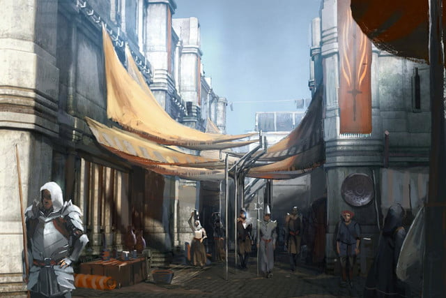 heres everything need know story leading dragon age inquisition daii concept art 17