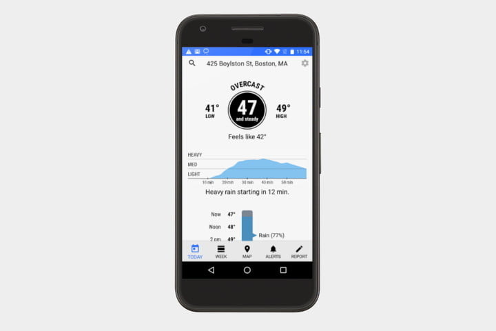 dark sky best android weather apps