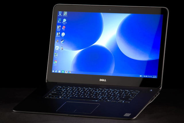 Dell Inspiron 15 7000 2015 front angle