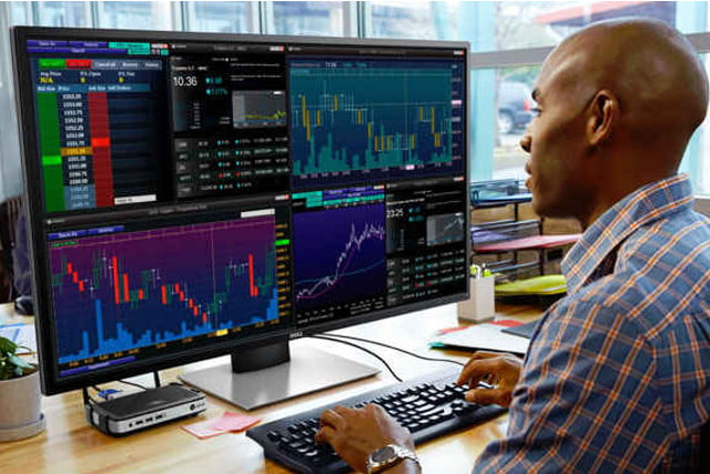 Dell S New Multi Client Monitor The P4317q Is A Big One