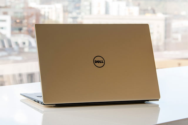 dell xps 13 2015 gold 2016 back angle