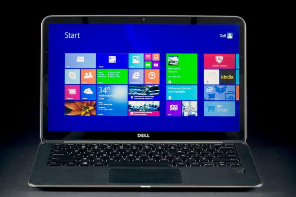 Dell XPS 13 Ultrabook front