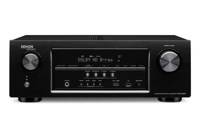 denon destroys price barriers 250 av receiver armed bluetooth 4k s700w front