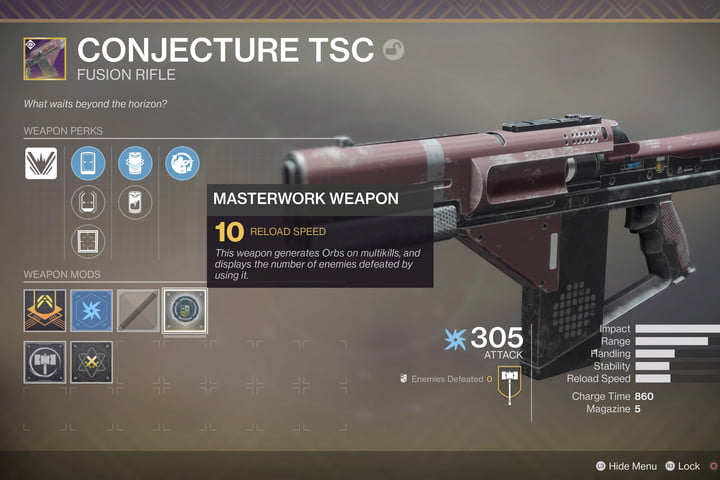 Masterwork Gear in Destiny 2: Everything You Need to Know | Digital