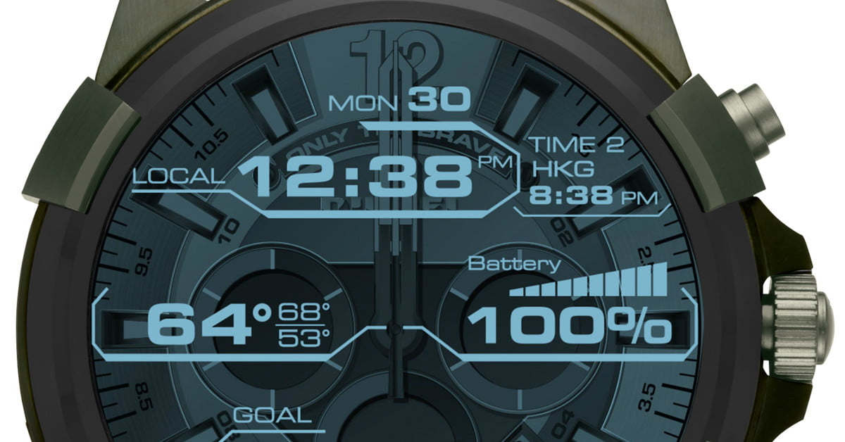 Diesel's On Full Guard Smartwatch Isn't For The Shy And Retiring