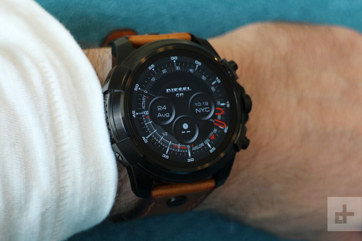 Diesel On Full Guard Smartwatch display