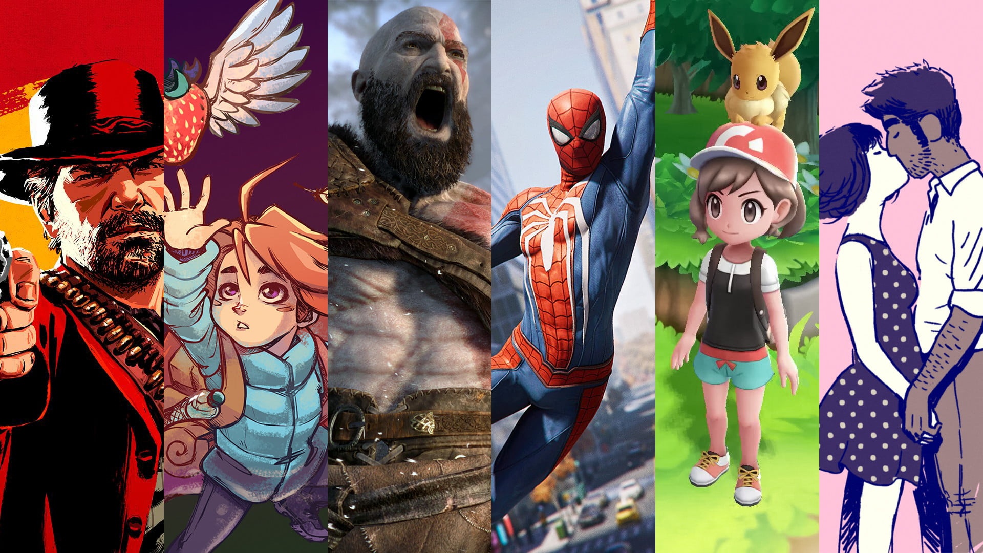 The Best Video Games Released In 2018